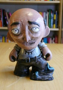 Sculpture of Dr. Henry Armitage, as imagined by Ben Stirling